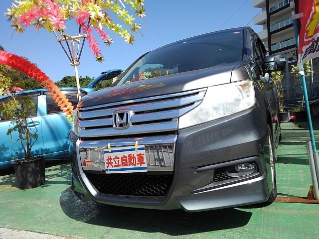沖縄の中古車 ホンダ ステップワゴンスパーダ 車両価格 99万円 リ済込 2012(平成24)年 9.1万km グレーM