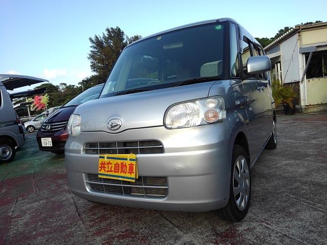 沖縄の中古車 ダイハツ タント 車両価格 49万円 リ済込 2013(平成25)年 2.4万km シルバー