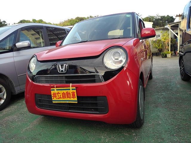 沖縄の中古車 ホンダ N-ONE 車両価格 60万円 リ済込 2013(平成25)年 7.1万km レッド