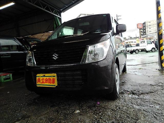 沖縄の中古車 スズキ ワゴンR 車両価格 63万円 リ済込 2015(平成27)年 2.2万km アーバンブラウンパールM
