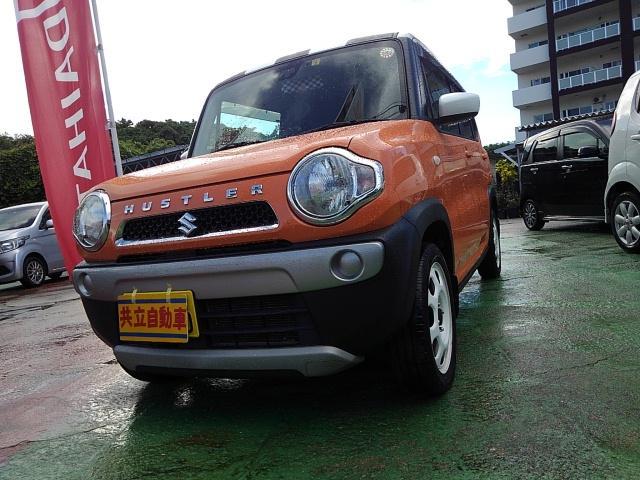 沖縄県の中古車ならハスラー Gターボ