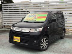 沖縄の中古車 スズキ ワゴンRスティングレー 車両価格 39万円 リ済別 平成23年 8.3万K ブラック