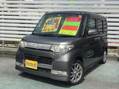 沖縄の中古車 ダイハツ タント 車両価格 49万円 リ済別 平成20年 9.1万K グレー