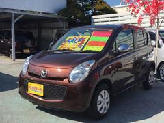 沖縄の中古車 マツダ キャロル 車両価格 39万円 リ済別 平成24年 8.6万K ブラウン