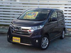 沖縄の中古車 日産 デイズ 車両価格 65万円 リ済別 平成26年 5.5万K ムラサキ