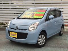 沖縄の中古車 マツダ キャロル 車両価格 39万円 リ済別 平成22年 3.9万K Lブルー