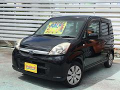 沖縄の中古車 スバル ステラ 車両価格 25万円 リ済別 平成21年 8.2万K オブシディアンブラックパール