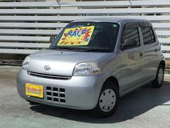 沖縄の中古車 ダイハツ エッセ 車両価格 19万円 リ済込 平成21年 10.4万K ブライトシルバーメタリック