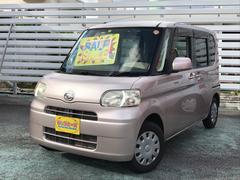 沖縄の中古車 ダイハツ タント 車両価格 49万円 リ済別 平成21年 4.4万K ピンク
