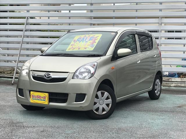 沖縄の中古車 ダイハツ ミラ 車両価格 26万円 リ済込 平成20年 8.2万km ゴールド