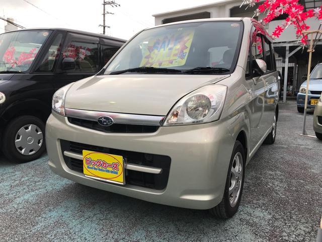 沖縄の中古車 スバル ステラ 車両価格 29万円 リ済込 平成18年 7.9万km ベージュ