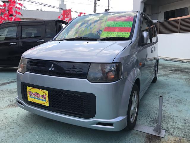 沖縄の中古車 三菱 eKスポーツ 車両価格 19万円 リ済込 2008(平成20)年 8.9万km シルバー