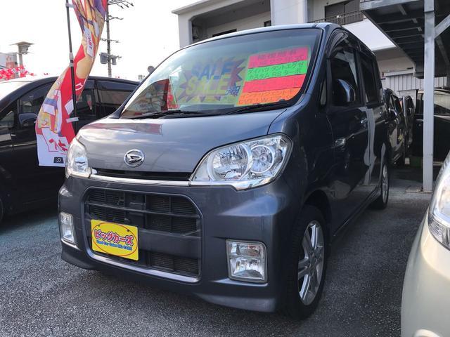 沖縄の中古車 ダイハツ タントエグゼ 車両価格 59万円 リ済込 2010(平成22)年 5.3万km グレー
