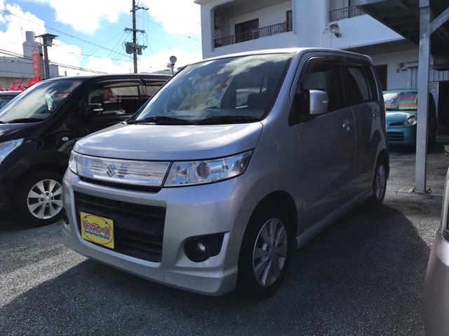 沖縄の中古車 スズキ ワゴンRスティングレー 車両価格 43万円 リ済込 2009(平成21)年 5.0万km シルバー