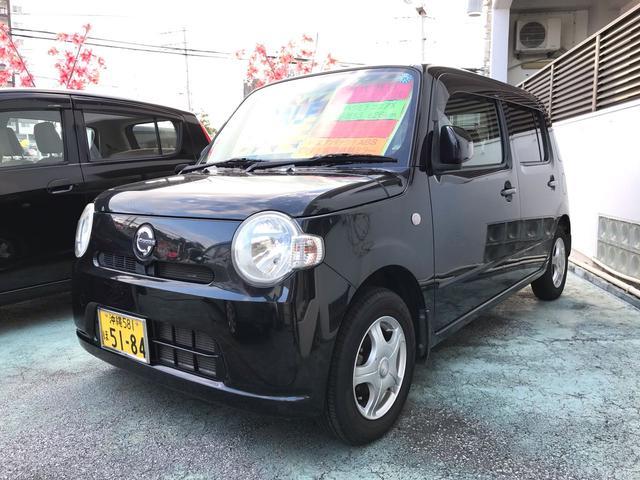 沖縄の中古車 ダイハツ ミラココア 車両価格 49万円 リ済込 2009(平成21)年 5.4万km ブラック