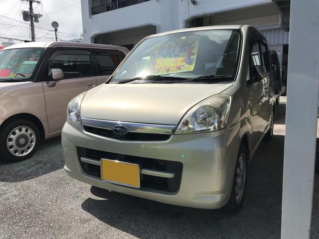沖縄の中古車 スバル ステラ 車両価格 19万円 リ済込 2006(平成18)年 8.0万km ベージュ