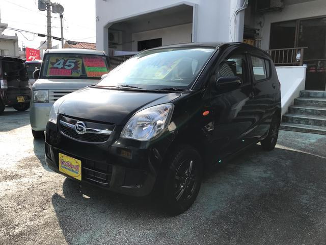 沖縄の中古車 ダイハツ ミラ 車両価格 39万円 リ済込 2013(平成25)年 2.3万km ブラック