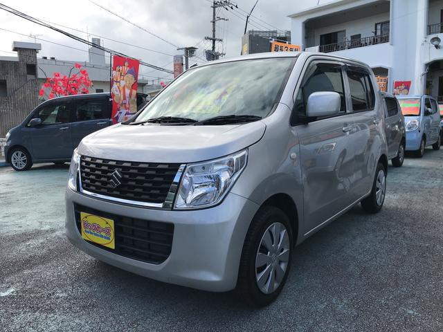 沖縄の中古車 スズキ ワゴンR 車両価格 39万円 リ済込 2014(平成26)年 4.6万km シルバー
