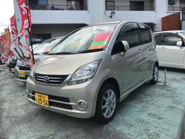 沖縄の中古車 ダイハツ ムーヴ 車両価格 39万円 リ済込 2009(平成21)年 5.5万km ゴールド