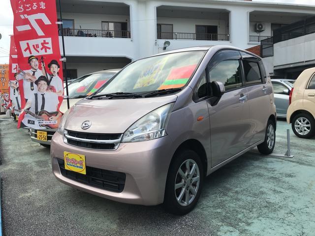 沖縄の中古車 ダイハツ ムーヴ 車両価格 39万円 リ済込 2010(平成22)年 7.1万km ピンク