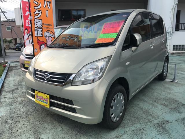 沖縄の中古車 ダイハツ ムーヴ 車両価格 39万円 リ済込 2009(平成21)年 3.4万km ゴールド