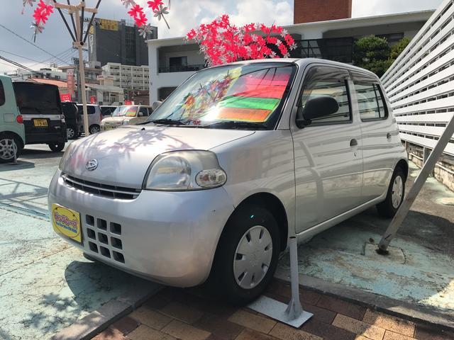 沖縄の中古車 ダイハツ エッセ 車両価格 11万円 リ済込 2007(平成19)年 5.1万km シルバー