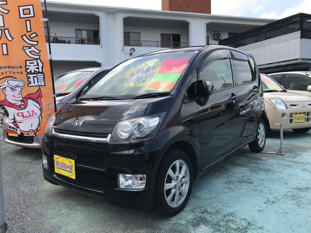 沖縄の中古車 ダイハツ ムーヴ 車両価格 33万円 リ済込 2007(平成19)年 6.7万km ブラック