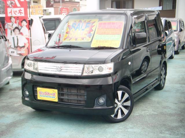 沖縄の中古車 スズキ ワゴンR 車両価格 29万円 リ済別 2007(平成19)年 6.5万km ブラック