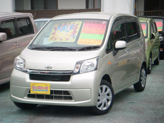 沖縄の中古車 ダイハツ ムーヴ 車両価格 49万円 リ済込 2013(平成25)年 6.8万km ゴールド
