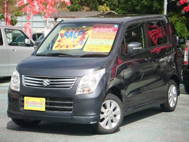沖縄の中古車 スズキ ワゴンR 車両価格 44万円 リ済込 2011(平成23)年 5.5万km グレー