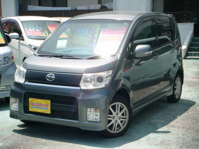 沖縄の中古車 ダイハツ ムーヴ 車両価格 49万円 リ済込 2009(平成21)年 4.9万km グレー