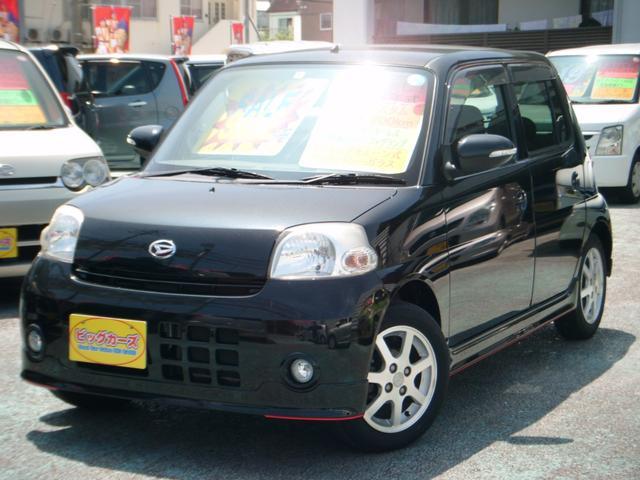 沖縄の中古車 ダイハツ エッセ 車両価格 39万円 リ済込 2011(平成23)年 7.9万km ブラック