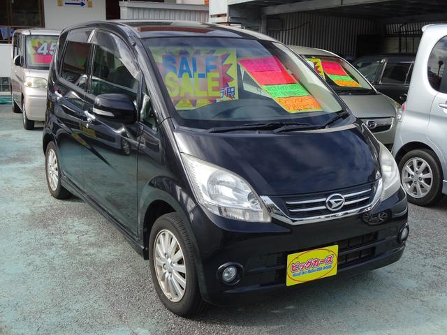 沖縄県沖縄市の中古車ならムーヴ X VS II インテリジェントキー・Wエアバック・ABS・CVT・電動格納ミラー・社外ナビ・プライバシーガラス