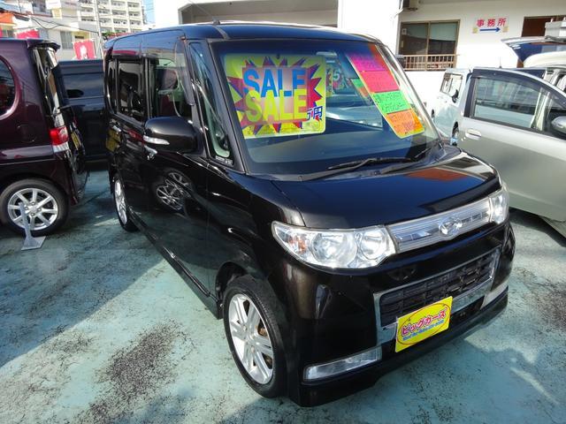 沖縄の中古車 ダイハツ タント 車両価格 69万円 リ済込 2010(平成22)年 6.4万km ブラック