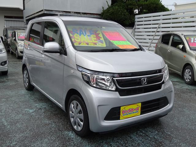 沖縄の中古車 ホンダ N-WGN 車両価格 49万円 リ済込 2015(平成27)年 12.0万km シルバー
