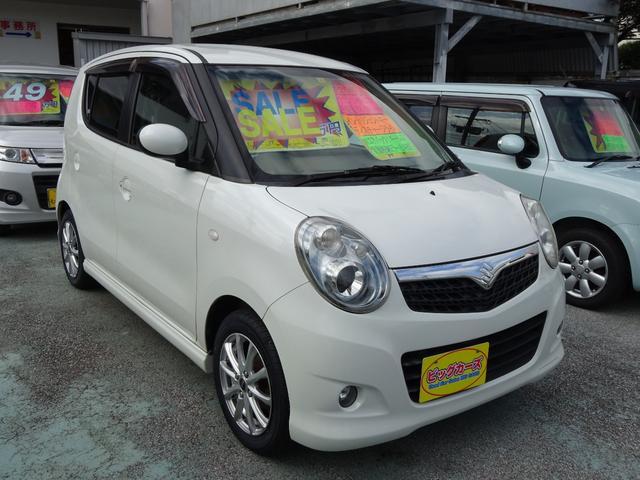 沖縄の中古車 スズキ MRワゴン 車両価格 37万円 リ済込 2008(平成20)年 6.9万km パールホワイト