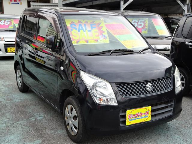 沖縄県沖縄市の中古車ならワゴンR FX キーレス・Wエアバック・電動格納ミラー・プライバシーガラス・ベンチシート・エアコン・パワステ・パワーウィンドウ