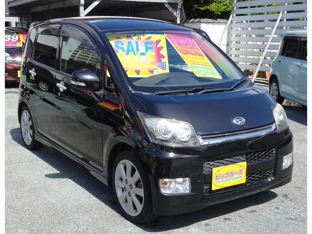 沖縄の中古車 ダイハツ ムーヴ 車両価格 39万円 リ済込 2007(平成19)年 6.1万km ブラック