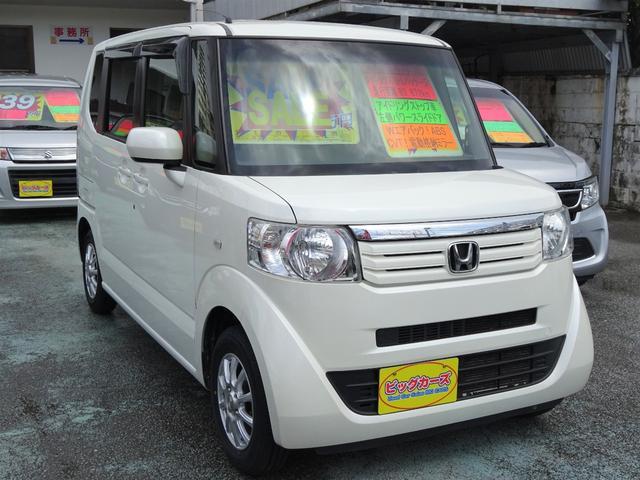 沖縄の中古車 ホンダ N-BOX 車両価格 49万円 リ済込 2012(平成24)年 8.4万km パールホワイト
