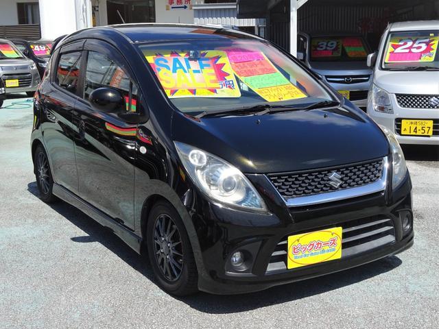 沖縄県の中古車ならセルボ SR ターボ車・フルタイム4WD・インテリジェントキー・ディスチャージチャージライト・Wエアバック・ABS・社外アルミホイール・キーレス・プライバシーガラス・ローダウン・電動格納ミラー・