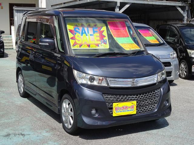 沖縄の中古車 スズキ パレットSW 車両価格 69万円 リ済込 2011(平成23)年 6.7万km グレー