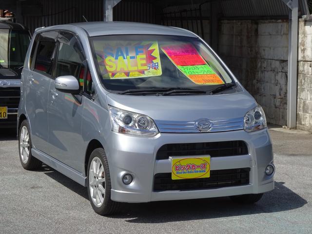 沖縄の中古車 ダイハツ ムーヴ 車両価格 59万円 リ済込 2012(平成24)年 6.3万km シルバー