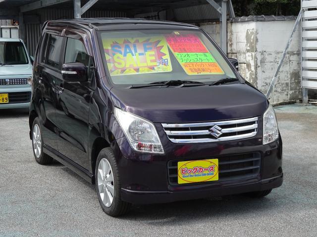 沖縄の中古車 スズキ ワゴンR 車両価格 39万円 リ済込 2010(平成22)年 6.3万km パープル