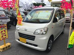 沖縄の中古車 ダイハツ タントエグゼ 車両価格 57万円 リ済込 平成22年 2.7万K パール