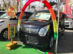 沖縄の中古車 スズキ ワゴンR 車両価格 67万円 リ済込 平成25年 5.2万K ブラック
