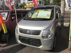 沖縄の中古車 スズキ ワゴンR 車両価格 51万円 リ済込 平成26年 6.4万K シルバー