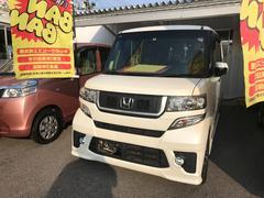 沖縄の中古車 ホンダ N BOX 車両価格 101万円 リ済込 平成25年 7.8万K パール