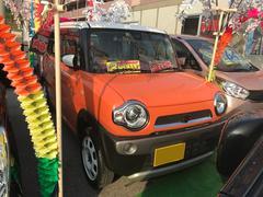 沖縄の中古車 スズキ ハスラー 車両価格 83万円 リ済込 平成26年 1.9万K オレンジII