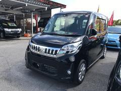 沖縄の中古車 三菱 eKスペースカスタム 車両価格 107万円 リ済込 平成27年 1.4万K ブラック