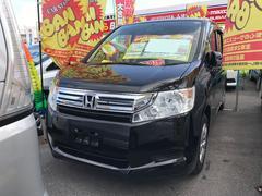 沖縄の中古車 ホンダ ステップワゴン 車両価格 84万円 リ済込 平成23年 8.1万K ブラック